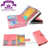 Hot New Retail Products Of Western Woman Make Leather Wallet Cell Phone Case For blackberry Q10