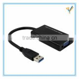 USB 3.0 to VGA Display Adapter Multi Monitor Converter Cable External Video Card 1920x1080