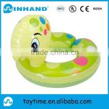 PVC Inflatable Animal Shape Swimming Ring/Inflatable Trainer Floating Wholesale Kids Animal Swimming Ring