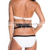 Arab Women Sexy Lingerie import china Color Block Bandeau Push up Strappy Bikini PW-LC41825