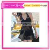 BSC106 2016 New women lace one piece pure skirt bikini swimwear
