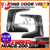 Toyota hiace type 4 2014-2016 sliding door small window wind shield visor rain guard