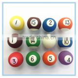 Rubber Billiards shape small candy toy, Children Education billiard ball