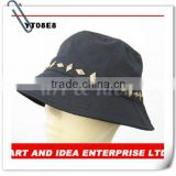Cheap Bucket Hat With Metal Fixed