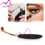 10 Pcs Tooth Brush Shape Oval Makeup Brushes Foundation Contour Powder Eyebrow Blush Eyeshadow