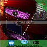 Aluminum expanded metal panel for car's front grill