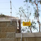 Safe alarm electronic fence system for hotel