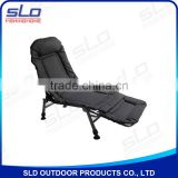 outdoor folding fishing bedchairs steel frame 2in1 Design