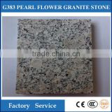 Hot sale!! High quality Natural grey flamed Granite Stone Tiles , Flamed Pearl Flower Stone Tiles