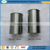 factory price D500 steel chromed cylinder liner