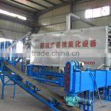 Carbonization machine for pyrolysis sawdust and rice husk for charcoal