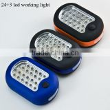 High quality 24+3 led working light ultrabright led working light for car