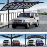 SGS ALuminum frame pc car tent Bayer 6mm skyblue polycarbonate hollow sheet high impaction