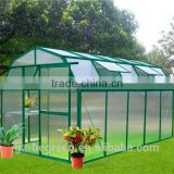 plastic cover agricultural commercial Aluminum frame tomato garden used greenhouse for sale
