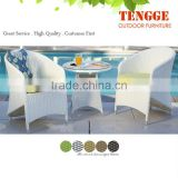 Outdoor furniture garden rattan dining table chair set 2014 TG-8074