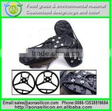 Snow cleats silicone Ice walker cleats for hiking boots