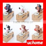 UCHOME Hot selling Toys Funny Dog Money Bank Electic Eating Coins Dogs Boxes Piggy Bank for sale