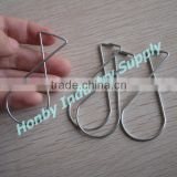 8 Shape Galvanized Steel Advertising Ceiling Hanger Clip