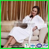 Cotton women sleepwear hotel velour sexy bathrobe