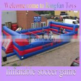 2014 inflatable human soccer ball pitch for world cup