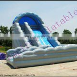 water wave inflatable slide,inflatables, PVC water slide WS004