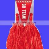 New Cheerleader red Pom-Poms and Megaphone Set