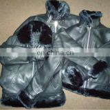 Leather jackets with Artificial Fur Linning, B3 Leather Flight Jackets, Shearling Coats, Bomber Jackets