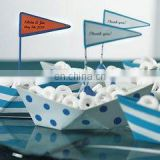 """Set Sail With Me"" Metal Boat Personalized Favor"