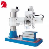 Z3032,35,40,50,63,80,100 radial drilling machine for 50mm metal working