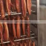 Automatic meat sausage fish/salmon/trout/ sturgeon smoke oven with best quality and service