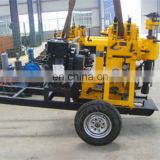 Drilling rig wheeled portable water well drilling rig for soil mini water well drilling machine price
