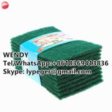 Nylon Scouring Pad Green Scouring Pads/Kitchen Cleaning Scourer Pad