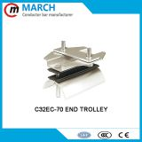 C32 festoon c-track cable trolley middle trolley end trolley