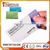 Credit card / ID card / bank card protector RFID blocking sleeve holder                                                                         Quality Choice