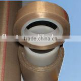 PTFE coated fiberglass fabric adhesive tape single sided adhesive heat resistant for sealing machines made in China Jiangsu