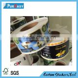 Self adhesive waterproof custom bee honey jar label                                                                         Quality Choice