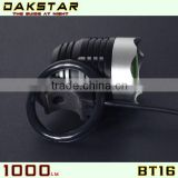 DAKSTAR New Inventions XML T6 LED BT16 1000LM Battery Pack Aluminum Rechargeable High Power CREE Mountain Bike Lights