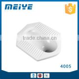 4005 Chaozhou Best Selling White Ceramics Material Asian Toilet Squatting Pan WC