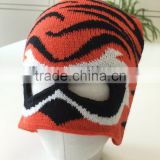 Winter Funny balaclava face mask hat ski mask hat boys knitted animal hat