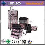 Cosmetic Trolley Case for Nail Beauty Cosmetic Rolling Case