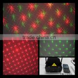 2015 Latest Design Mini Laser Holiday Party Light with Remote Control for Christmas,Birthday,
