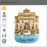 Popular resin rome souvenir fridge magnet cities