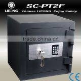 Fire proof and fire fighting safe box, fire safe for keeping pistols, fire resistant safe box