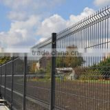 Galvanized and PVC coated crime prevention fencing