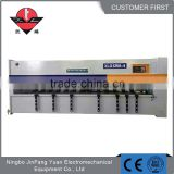 In stock grooving machine cnc 6mm v cutting machine to make slot on stainless steel plate