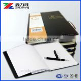 Leather Hard Cover notebook for Business ; Business Leather botebook ; Writing notebook for business man .