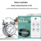 Hottest Bracelet Bangle Smart Watch TW64 with Bluetooth 4.0