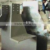 Galvanized cable bridge , painting cable tray , cable tray
