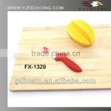 Non-stick pattern painting kitchen fruit knife with PP handle
