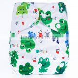 Hot New Products 2016 Parents Choice Printed AIO Comfortable Natural Reusable Diapers For Babies